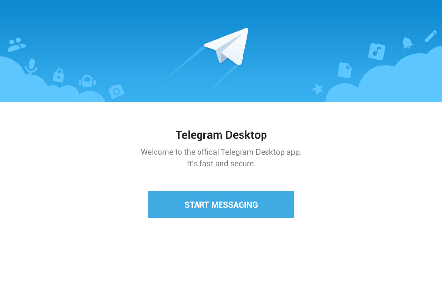 страница входа telegram desktop