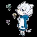 """Shiro neko """"blu"""""""