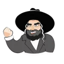 Jewish Stickers by JEvents