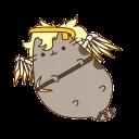 Pusheen Overwatch by Eckru