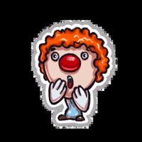 Little clown by Svetlana Krasnikova