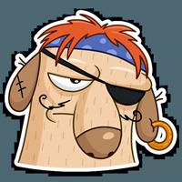 Пират Дигги :: @stickroom