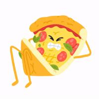 Pizza @MishaXgraphic