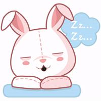 cute plush bunny