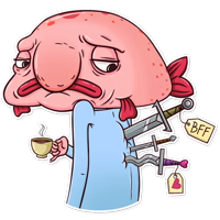 Sad Blobby