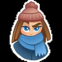Зимняя девочка