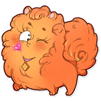 Curly the Spitz