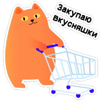 Кот Сушистик