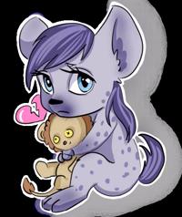 Sweet_hyena (@Valeria_fills_art)