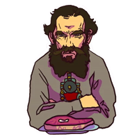 Leo Tolstoy Hipster