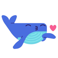 whale @Xstickers