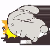 Милый кролик @nyasticks