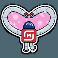 Робот М-3000 из Магнита @tgsticker