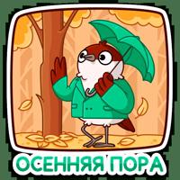 Осенний Чирик :: @stickroom