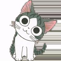 Серый Полосатый Кот