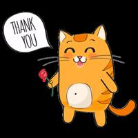 Рыжий Кот от @StickerManya
