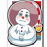 Снеговичок :: @stickroom