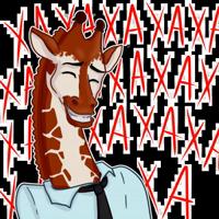 Girafe @stickerssave