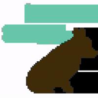 welsh corgi silhouette