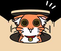 Wonderful orange cat (@n_chronos)