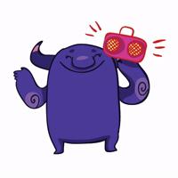 @zeligen7 purple monster